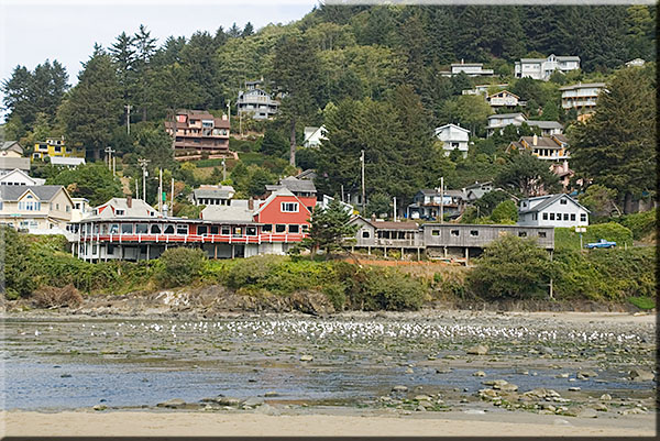 Figure 1. City of Yachats, just to the right of the Post Office.