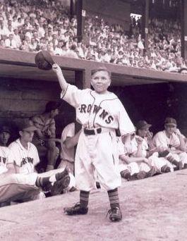 Figure 2. Eddie Gaedel of the St. Louis Browns.