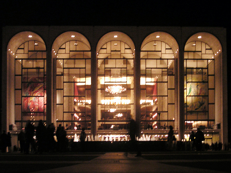 Figure 1. Metropolitan Opera House in Lincoln Center.